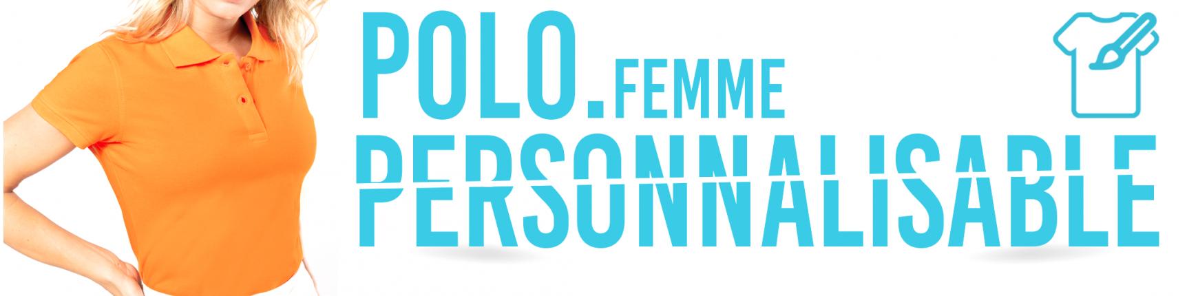 Commandez dès à présent votre polo personnalisé pour femme