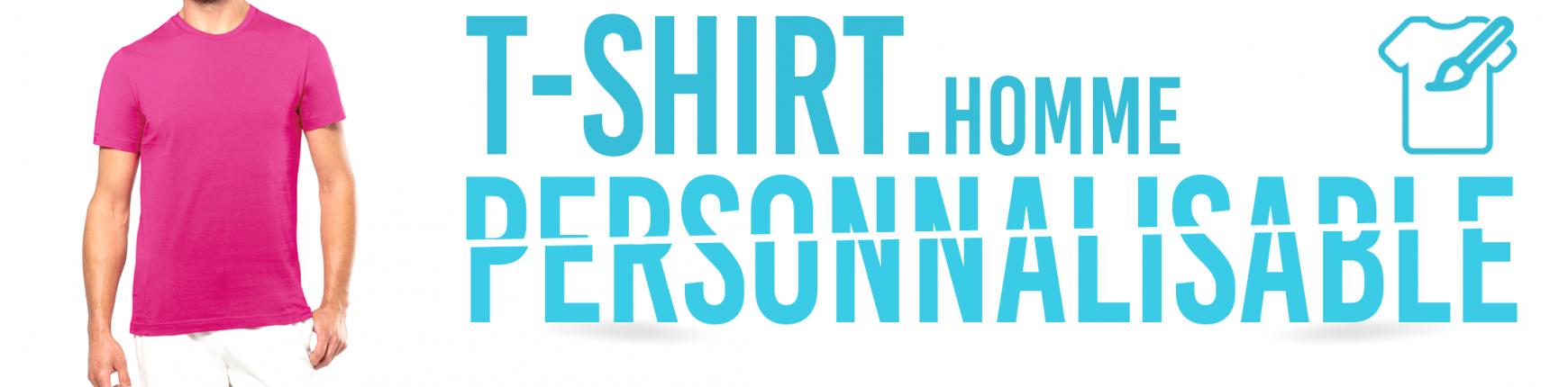 T-Shirt personnalisé pour les Hommes - Impression T-Shirt