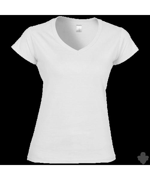 T shirt femme col V personnalisé