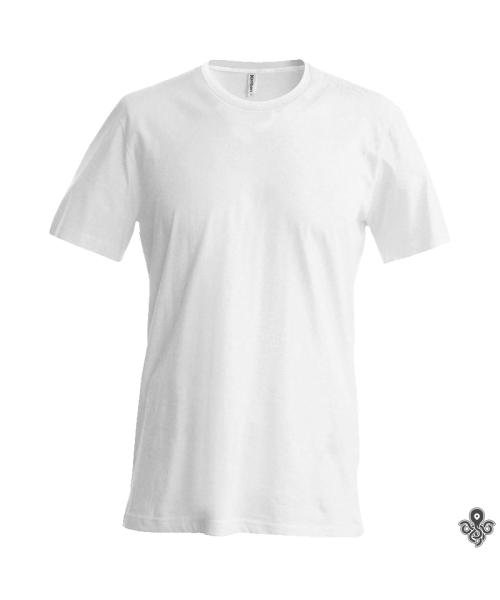 T-SHIRT COL ROND A MANCHES COURTES HOMME